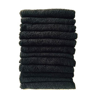 black-hairdressing-towels My Hospitality Supplies